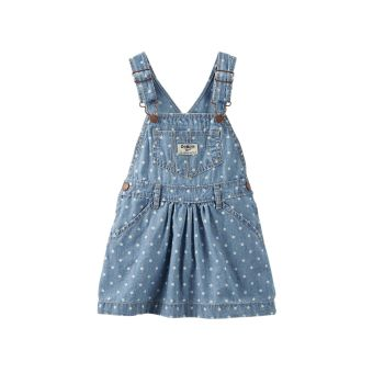 Harga OshKosh B'gosh Polka-Dot Chambray Jumper