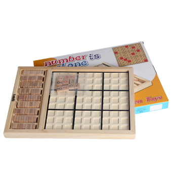 Harga Andux Wooden Sudoku Board Games SD-01