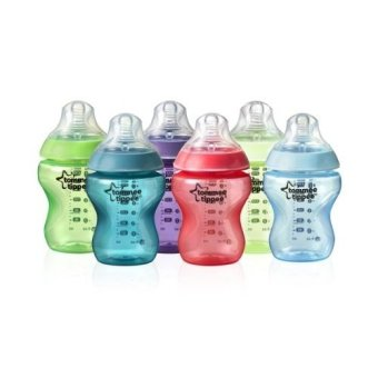 Harga Tommee Tippee Closer to Nature Fiesta Bottle 9oz 6pcs