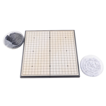 Harga HOT Quality Foldable Game of Go Go Board Game WeiQi Full Set 18x18 Study Size
