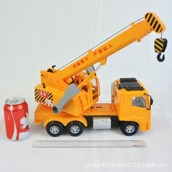 Lee engineering car large inertia car large cranes crane boy child truck toy mold