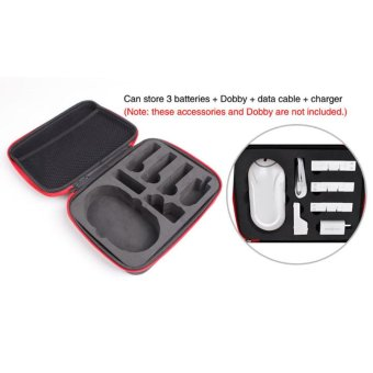 Battery Handheld Bag Case Container For Zerotech Dobby Drone RC Black - intl