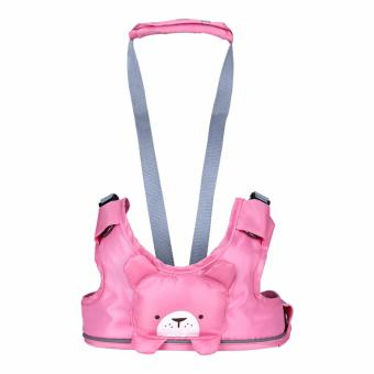 Harga Baby Harness Backpack Leash Toddler Walker Leashes Child Safety Reins Baby First Walker (Pink)(...)