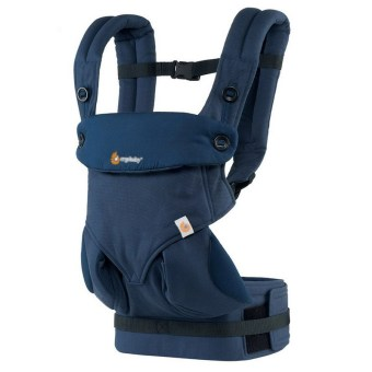 Harga Dark Blue Ergonomic Baby Carrier 360 Baby Carrier Four Positions Baby Sling Wraps BD01