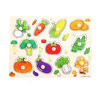 Harga Vegetable Peg Puzzles for Kids