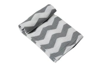 Baby Gauze Towels Children's Comfortable and Soft Towels- Thick Stripes - intl