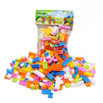 144pc Patic Buiding Bock Brick ChidrKid Educationa Puzze Toy