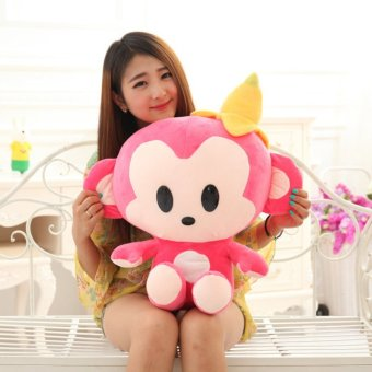 Harga Plush toys banana monkey lovers, monkey doll doll large dolls, Valentines Day gifts, Christmas gifts