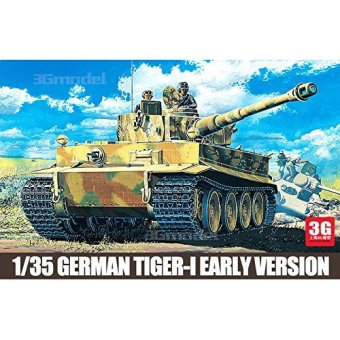 Harga Academy model 13239 World War II/ the United States and Germany in the early-type full configuration Tiger