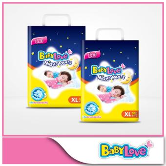 Babylove NightPants Jumbo Pack XL 38pcs x 2 packs