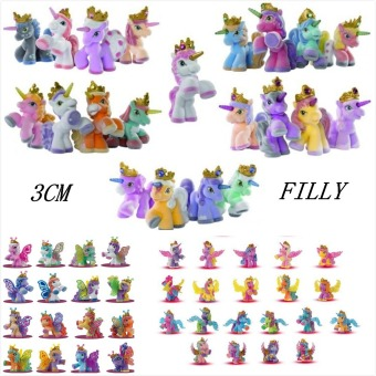 Harga 12pcs Original Simba Filly Butterfly Stars Witchy Unicorn etc. Little Horse Doll