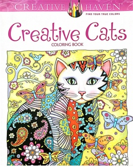 Harga Creative Haven Creative Cats Colouring Book For Adults Antistress Coloring Book Secret Garden Series Adult Coloring Book - intl