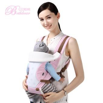 Harga Bethbear Comfortable Breathable Multifunction Carrier Infant Backpack Waist Stool Baby Hip Seat - intl