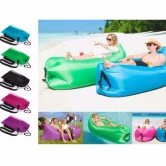 Harga Fast Inflatable Air Lounge with Pocket - Black
