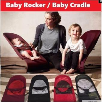 Harga Baby Bouncer / Baby Rocker / Infant to Toddler Safety Seat (Grey)