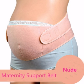 Harga Maternity Back Support Belt Pregnancy Tummy Belly Brace (Nude L)
