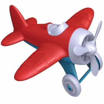 Harga Green Toys Airplane (Red)