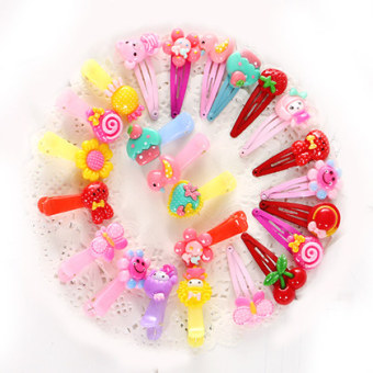 Harga Factory direct children's hairpin bangs clip side clip hair accessories for girls baby girl headdress bb clip set