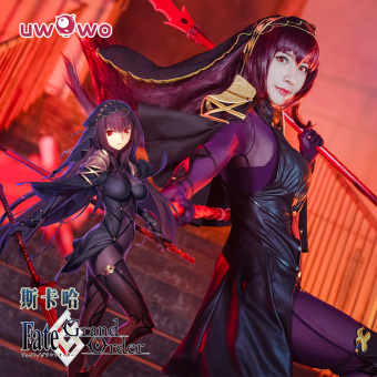 Harga Sale [uwowo] Fate/Grand order Sika ha COS three broken division Cegar COS clothes ftgo
