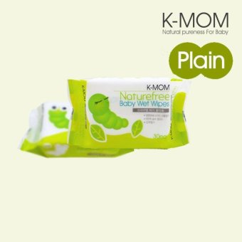 Harga K-Mom Organic Portable Wipes 30s