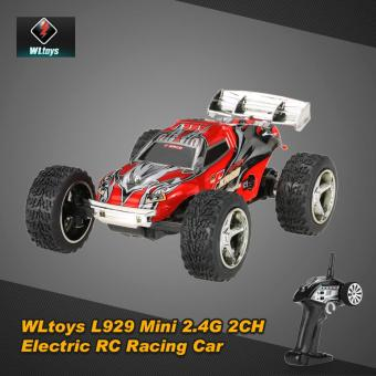 Harga Original WLtoys L929 Mini 2.4Ghz 2CH Electric RTR RC Stunt Car - intl