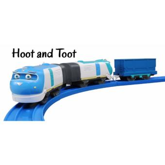 Harga TOMY Chuggington Trains - Hoot & Toot- for Trackmaster and Plarail