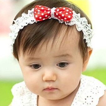 Harga Lace baby headband hair with baby hair band