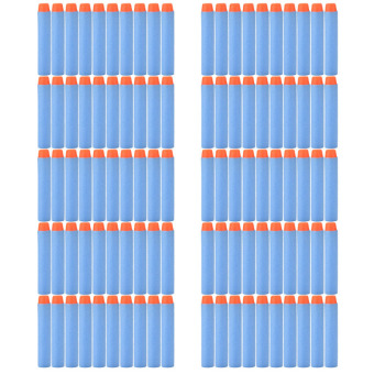Harga Buytra Refill Darts Bullet for Nerf Elite Series Blaster Sky Blue 100pcs