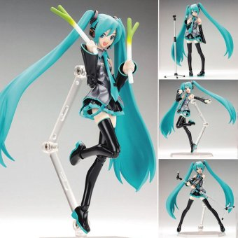 "Harga Hatsune Miku Figurine Mini PVC Manga Dolls Action Figure Toy Collection 15cm/6"" - intl"