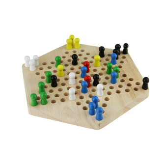 Harga Chinese Chequers Traditional Kids Girls Boys Toys Wooden Checkers Game Marbles Handcrafted Kids Educational Toys Gobang Travel Board Game Glass Marbles Desktop Games Family Game Set Chessboard - intl
