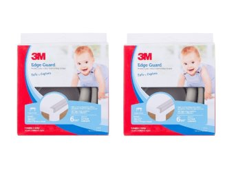 Harga [Bundle of 2] 3M™ Child Safety - Edge Guard Grey - 1M Size