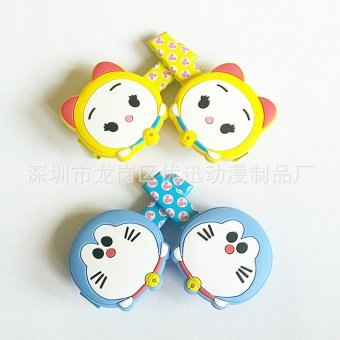 Harga Children's headdress bite jingle cats duo la A Dream Doraemon us machine cat duckbill clip printing Mickey hairpin gift