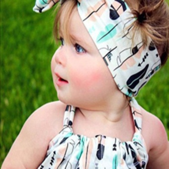 LALANG Baby Girls Boys Headwear Elastic Knot Headband (8#) - intl