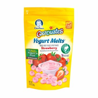 Harga GERBER® GRADUATES® Yogurt Melts® Strawberry 28g