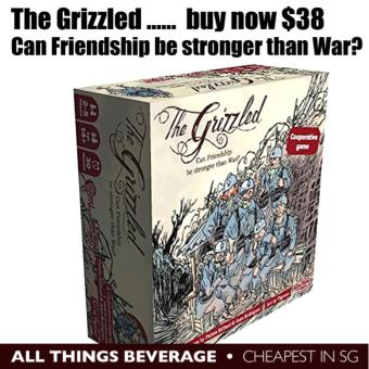 CMON The Grizzled Award Winning Board Game (Cheapest in SG)