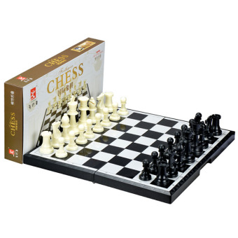 Harga Chess chessboard set magnetic folding chess chessboard set adult child