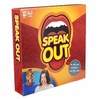 Harga Speak Out Game Mouthguard Challenge Party Game Family Game - intl