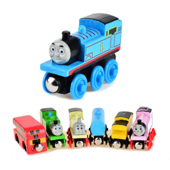 Harga Wooden Magnetic Thomas Circus Train Donald Lady Gordon Friends Lorry Track Railway Vehicles Diecast Toy - intl