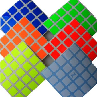 Z-Stickers for Shengshou 5x5x5 magic cube (ZBW) (EXPORT)