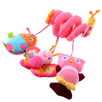Harga Baby Kids Cot Spiral Hanging Decoration Stroller Toys for Cot/Car Seat/Pram