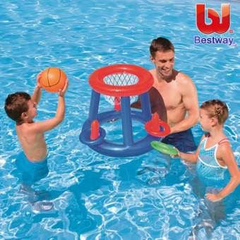 Harga Bestway 52190 pool swimming pool water basketball adult children's inflatable swimming toys promotional