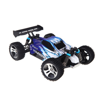 Harga Wltoys A959 1/18 1:18 Scale 2.4G 4WD RTR Off-Road Buggy RC Car (Wltoys A959 Car