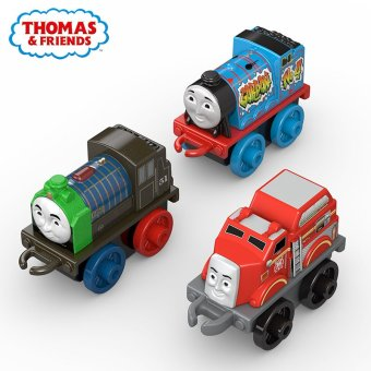 Harga Mini train thomas and friends of the four vehicles (super hero theme) DMM95