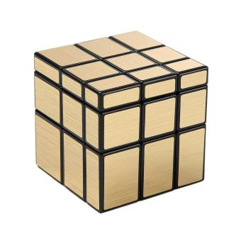 Harga LT365 Cyclone Boys Mirror Blocks 3x3x3 Puzzle Speed Cube 57mm Gold Version - intl