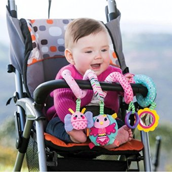 Infantino Spiral Activity Toy, Pink - 3