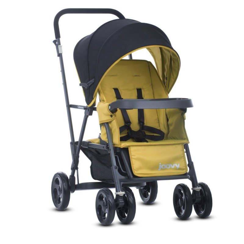 jJoovy Caboose Graphite (Amber) - Double Stand-on Tandem Stroller Singapore