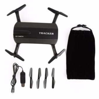 JXD 523 Tracker Mini Foldable Pocket Drone with WIFI HD Camera[Black] - 2