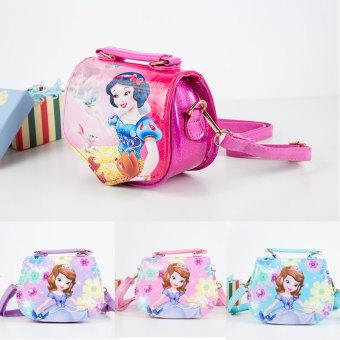 Korean-style children's bag Portable Bag messenger bag Sofia Snow White Princess girls small bag fashion hand bag