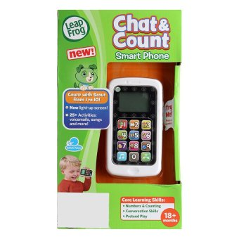 Harga LeapFrog Chat & Count Phone, Scout