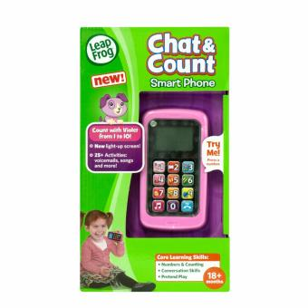 Harga LeapFrog Chat and Count Phone, Violet